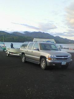 山中湖でした。