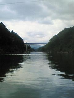 三瀬谷ダム、前日プラ