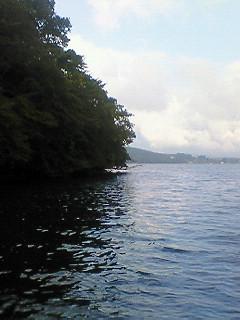 野尻湖、無事到着したが。。。