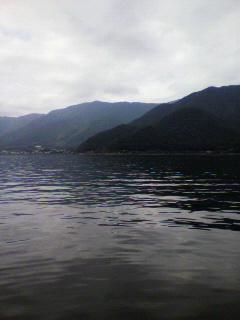 今日は河口湖。