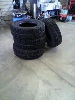 オイル&タイヤ交換。