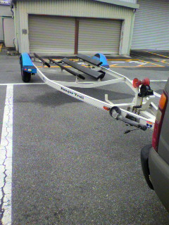ボートトレーラーユーザー車検。