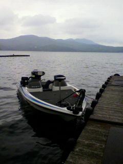 山中湖へ。