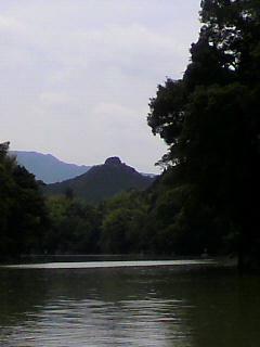 三瀬谷ダム前日プラクティス。