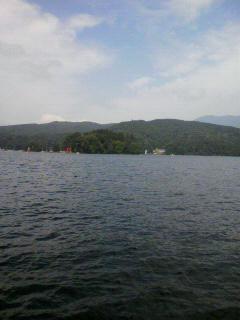今日は野尻湖。