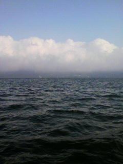 今日は山中湖。