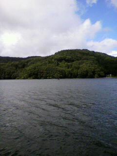 野尻湖前日プラクティス。