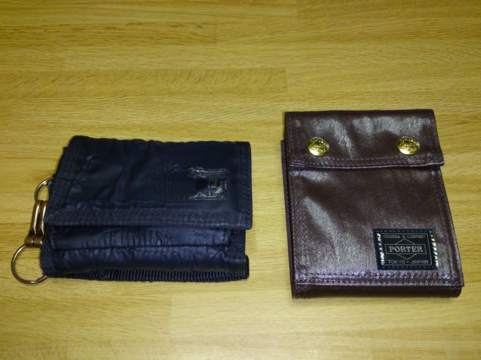 財布新調。