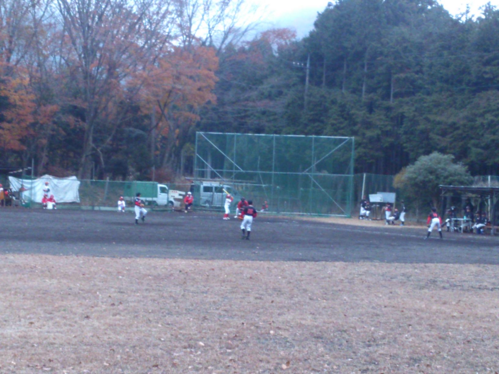 野球観戦。