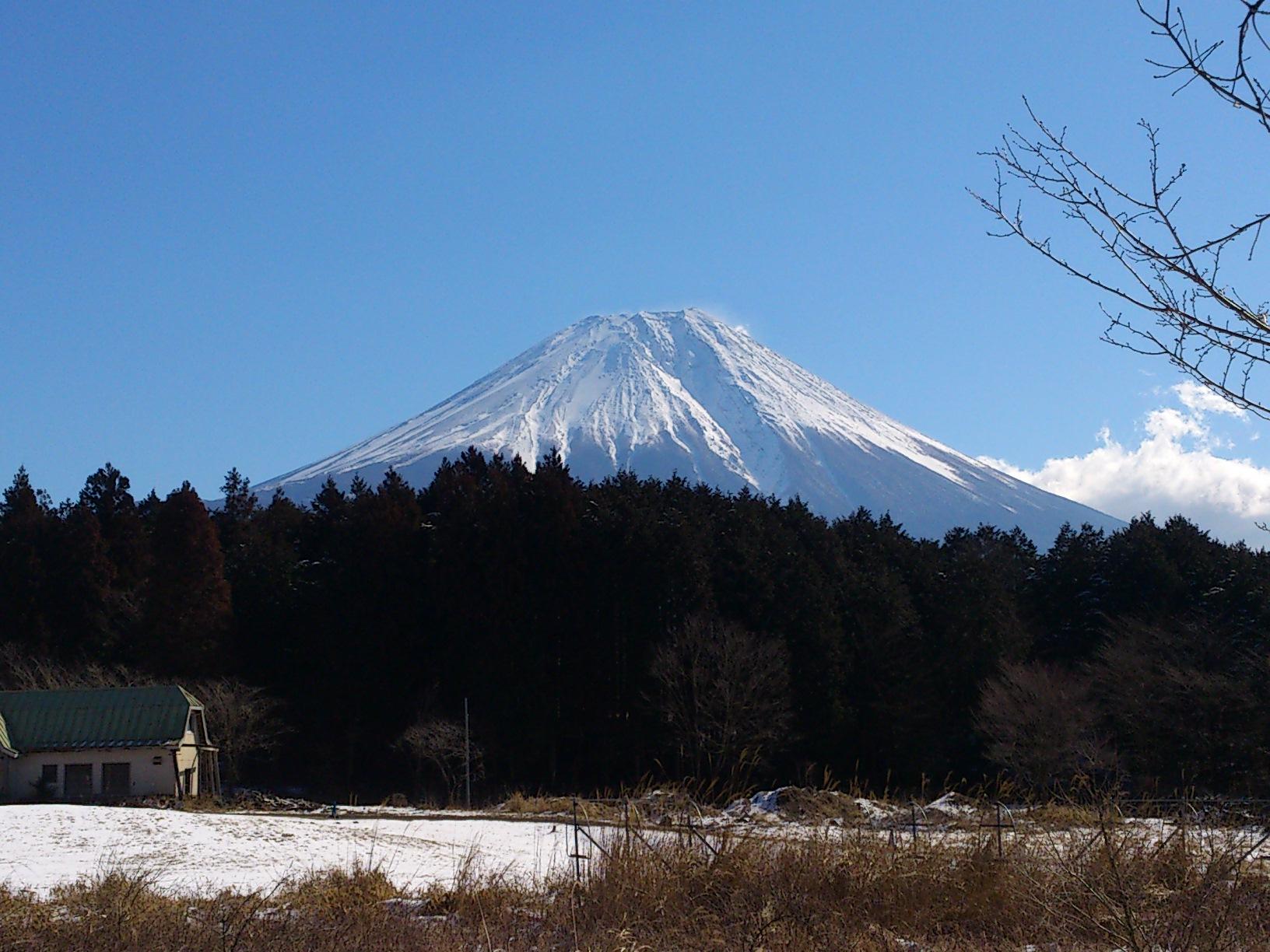富士山キレイ。