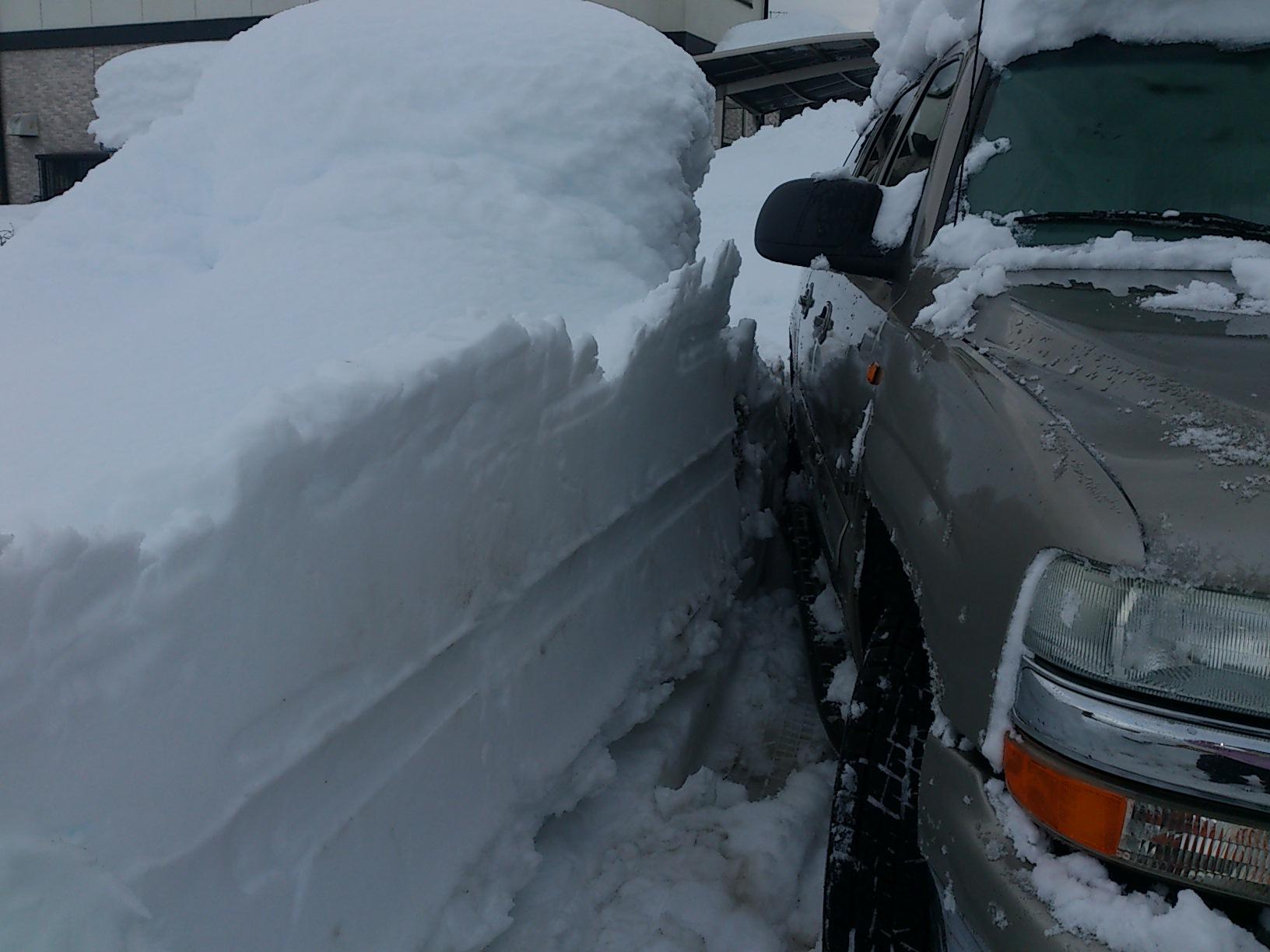雪国山梨。